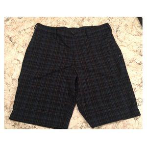Under Armour size 36 plaid shorts